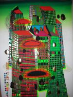 Foto 2 HUNDERTWASSER ''Good morning City''
