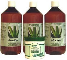 Haben Sie schon mal Aloe Vera Saft probiert?