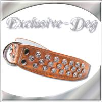 Halsband Strasshalsbänder mit SWAROVSKI ELEMENTS Hundehalsband ''EXCLUSIVE-DOG''