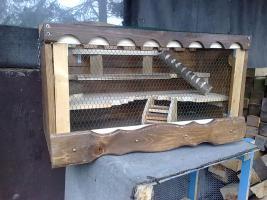 Foto 2 Hamsterkäfig/Mäusekäfig aus Holz! Neu!