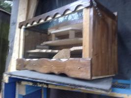 Foto 3 Hamsterkäfig/Mäusekäfig aus Holz! Neu!