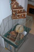 Hamsterkäfig & Zubehör abzugeben!