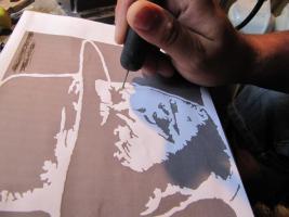 Hand Made: Dein Portrait im Natur Holz