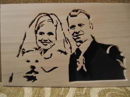 Foto 5 Hand Made: Dein Portrait im Natur Holz