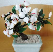 Handarbeit! Edle dekorative Pflanze aus Glas incl. Topf  € 30,00 + Versand