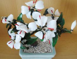 Foto 2 Handarbeit! Edle dekorative Pflanze aus Glas incl. Topf  € 30,00 + Versand