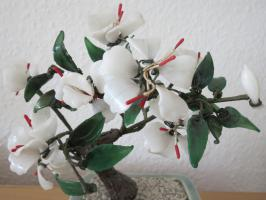 Foto 4 Handarbeit! Edle dekorative Pflanze aus Glas incl. Topf  € 30,00 + Versand