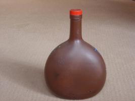 Foto 2 Handbemalte Weinflasche