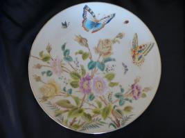 Handbemalter keramik Teller