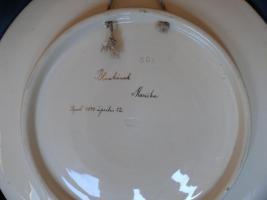 Foto 2 Handbemalter keramik Teller