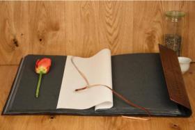 Foto 7 Handgefertigte Lederwaren, Notizbücher, Fotoalben, Ledertaschen - Ideal zum verschenken