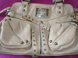 Foto 7 Handtasche neu ungebraucht silberschwarzmetallisch glänzend