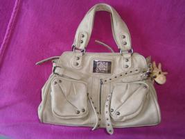 Foto 9 Handtasche neu ungebraucht silberschwarzmetallisch glänzend