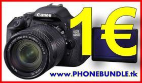 Handy-Bundle mit Canon EOS 600D nur 1 Euro