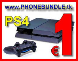 Handy-Bundle mit Sony PlayStation 4 nur 1 Euro