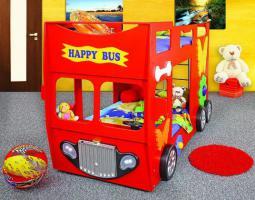 Etagenbett Autobett : Happy doppelbus autobett hochbett doppelbett etagenbett kinderbett