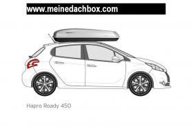 Hapro, Roady 450, Dachbox, 420 Liter