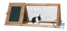 Hasenstall Kaninchenstall Stall Freigehege