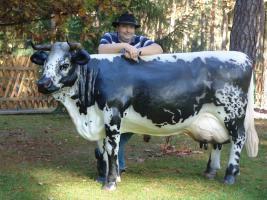 Foto 2 Hast Du einen Balkon und möchtest das eine Deko Kuh auf den Balkon steht … ja dann ...