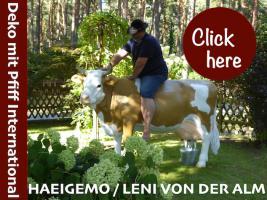 Foto 2 Hast du schon gehört was denn holstein friesian deko Melk Kuh lebensgross oder Leni von der Alm lebensgross ...
