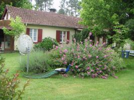 Hausteile mit Garten für Tierfreunde in Südwestfrankreich, Atlantik