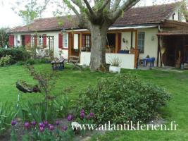 Foto 2 Hausteile mit Garten für Tierfreunde in Südwestfrankreich, Atlantik
