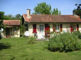 Foto 3 Hausteile mit Garten für Tierfreunde in Südwestfrankreich, Atlantik