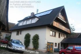 Foto 6 Haustürgeschäft Dachbeschichtungen nicht von unbekannten Firmen ausführen lassen Dachbeschichtungen M.Fautz seit 1989 Fautz Beschichtungen GmbH  Malerbetrieb www.fautz-beschichtungen.de Tel.07832/969693