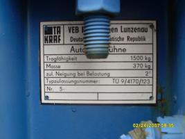 Foto 2 Hebebühne für Auto , PKW