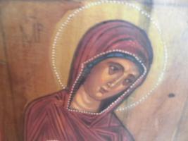 Foto 2 Heilige Maria, Holzgemälde;MP , öy