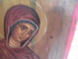 Foto 4 Heilige Maria, Holzgemälde;MP , öy