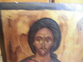Foto 6 Heiliger Jesus, Bild auf Holz; IC , XC