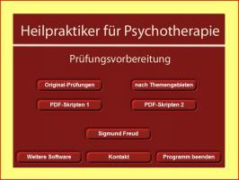 Heilpraktiker Prüfungsfragen Psychotherapie - Software Prüfungstraining