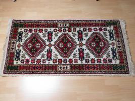 Heller Teppich 140 x 73 cm