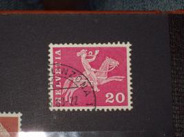 Helvetia Briefmarken 4-er Set