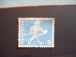 Foto 3 Helvetia Briefmarken 4-er Set