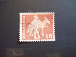 Foto 4 Helvetia Briefmarken 4-er Set