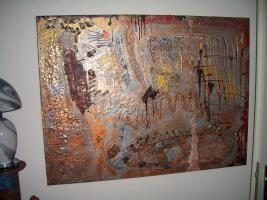 Foto 2 ''Herbstimpression''---Acryl Unikat auf Leinwand
