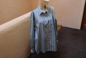 #Herrenhemd, Gr. XL, #blau, #Streifen, #Tom Tailor, #Markenmode