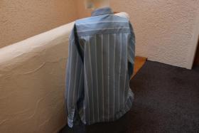 Foto 3 #Herrenhemd, Gr. XL, #blau, #Streifen, #Tom Tailor, #Markenmode