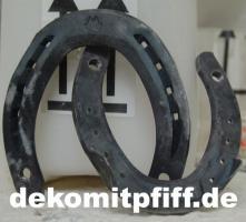 Foto 2 Hey Du hast noch kein Deko Pferd … ja dann hol Dir eins mit hufeisen ...