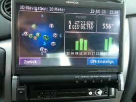 Highend Navgations Multimedia Autoradio Kenwood KVT 627 DVD