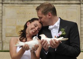 Foto 6 Hochzeitstauben Dresden ®