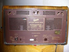 Foto 2 Höchstgebot ,00 € Graetz-Radio 160-Serie Spitzensuper 163 W(Tausche)  für den Sammler mit Wertsteigerung 980,00 EURO Altes Röhrenradio RARITÄT von Graetz Modell 1952 Spitzensuper 163 W
