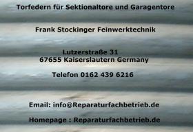 Foto 2 Hörmann Reparatur Ersatzteile für den Landkreis Kaiserslautern