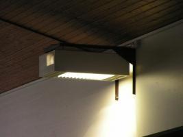 Foto 3 Hoffmeister-Hallenleuchten mit 2 x 400 Watt Metalldampflampen