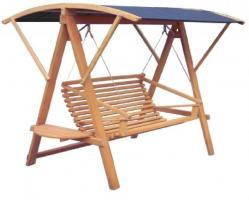 Hollywoodschaukel, Gartenschaukel-Holz-schaukel, Swing -NEU-von Bio-Tischler