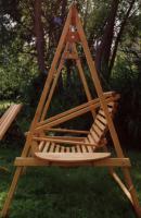 Foto 3 Hollywoodschaukel, Gartenschaukel-Holz-schaukel, Swing -NEU-von Bio-Tischler