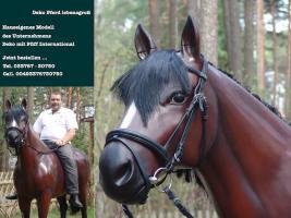 Foto 2 Holstein Deko Kuh oder Deko Pferd und Deko Kalb ….?????