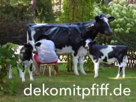 Foto 6 #Holstein #Friesian #Deko #Kuh #lebensgross und dazu … www.dekomitpfiff.de einfach mal vorbei sehen …01